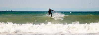 eau, vague, plage, mer, océan, été, sable, sport