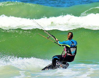 sport, acqua, donna, surfista, sport, estremo, mare, oceano
