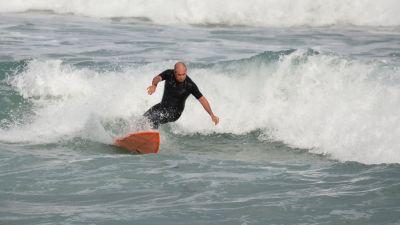 vann, bølge, utøver, hav, havet, stranden, sommer, bølger, surfer