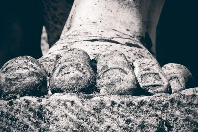 stone, monochrome, art, sculpture, foot, detail, marble, bust