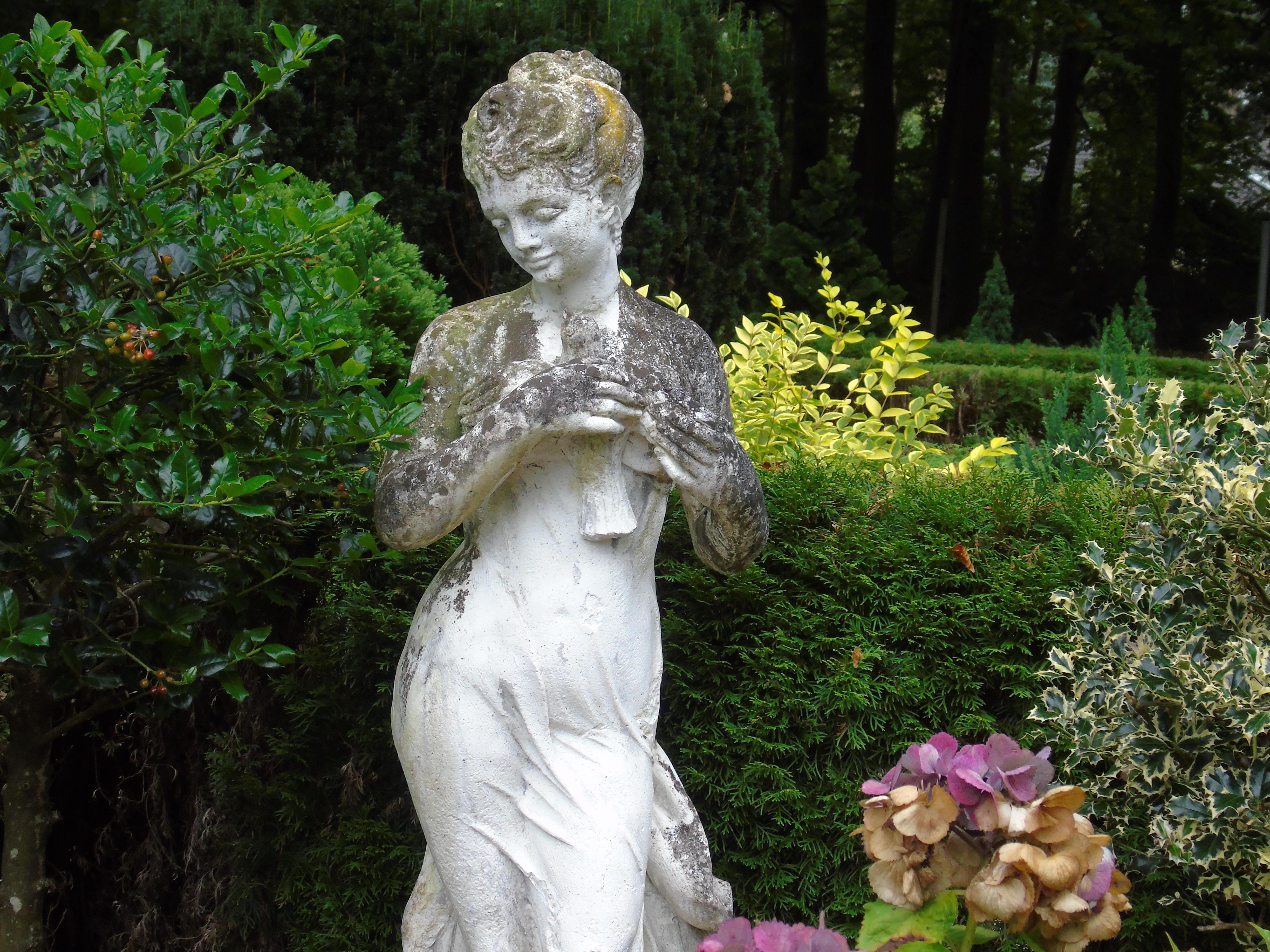 garden antique stone pedestal unique products english b large