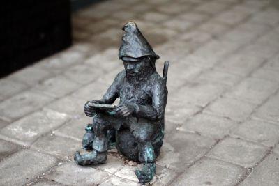 bronce, acera, calle, piedra, viejo, estatua, arquitectura, urbanismo