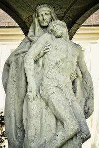 escultura, estatua, arte, gente, hombre, mármol, religión, antiguos