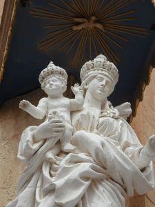 조각, 동상, 예술, 종교, 대리석, 고 대, 건축