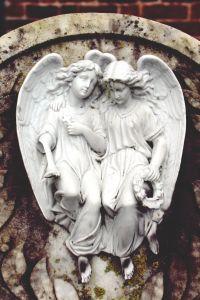 art, sculpture, religion, statue, cemetery, stone