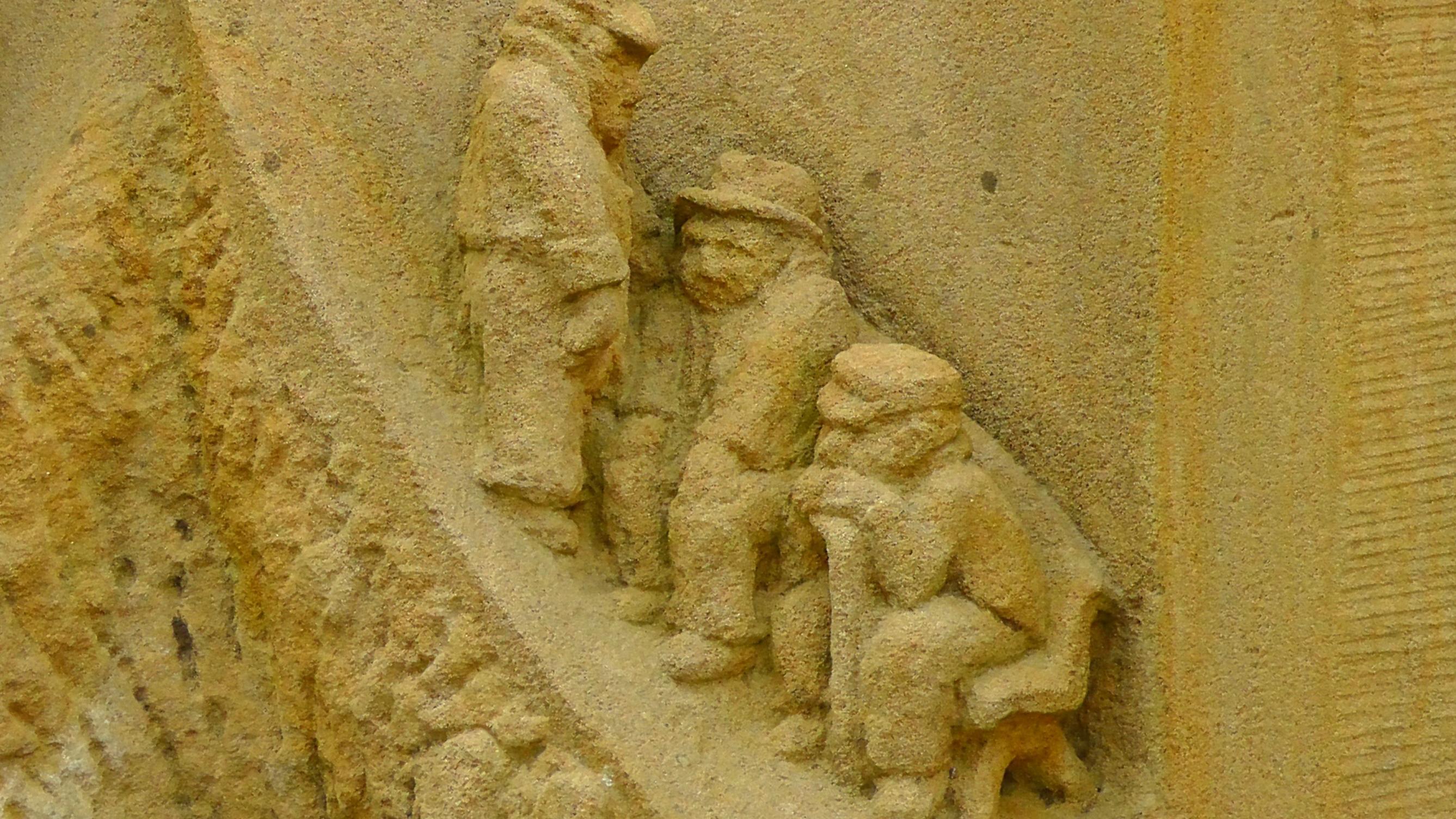 Free picture: sculpture, texture, wall, detail, art, decoration