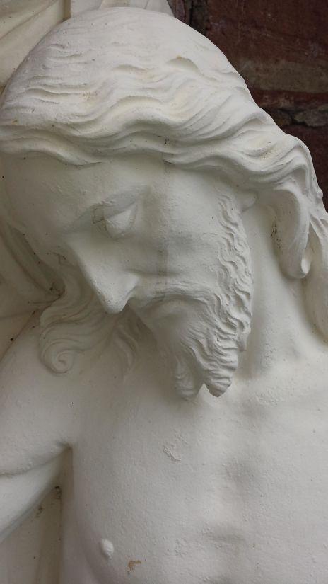 sculpture, marble, statue, art, head, Christ, christianity, religion, monochrome