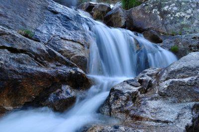 waterfall, water, river, stream, nature, creek, landscape