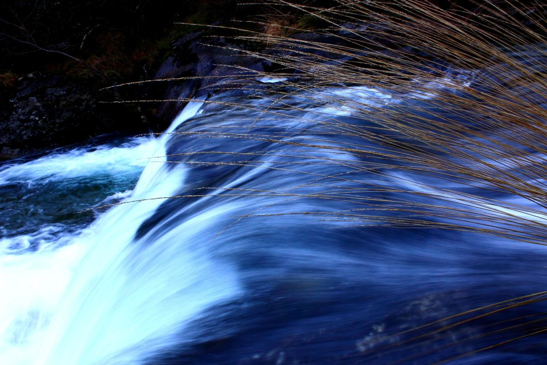water, waterfall, river, stream, nature, photograph, abstract