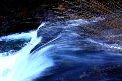 su, şelale, nehir, dere, doğa, fotoğraf, soyut