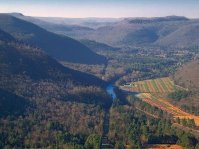 montaña, paisaje, Valle, río, cielo, colina, bosque, río, árbol, agua, verano, cañón