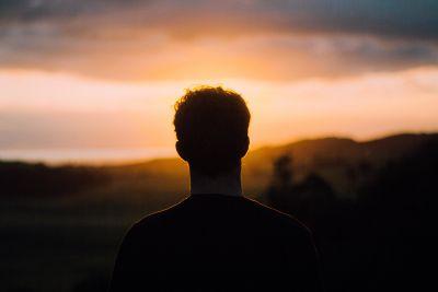 Sonnenuntergang, Landschaft, Menschen, Himmel, Wolke, Schatten, Dunkelheit, Sonne, Silhouette, Hintergrundbeleuchtung