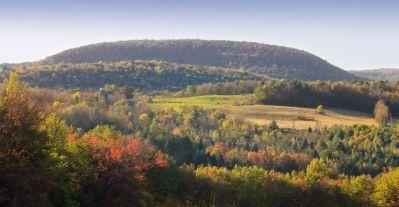 krajina, strom, príroda, drevo, hory, hill, obloha