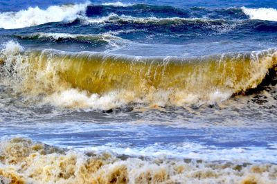 water, wave, ocean, sea, seashore, foam, nature