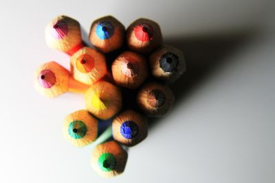color, colorful, pencil, object, macro, detail, shadow