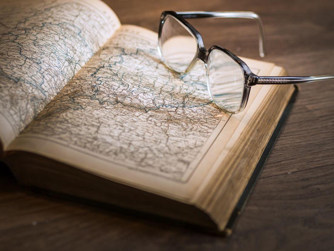 lunettes, livre, littérature, page, sagesse, éducation, carte, papier, texte