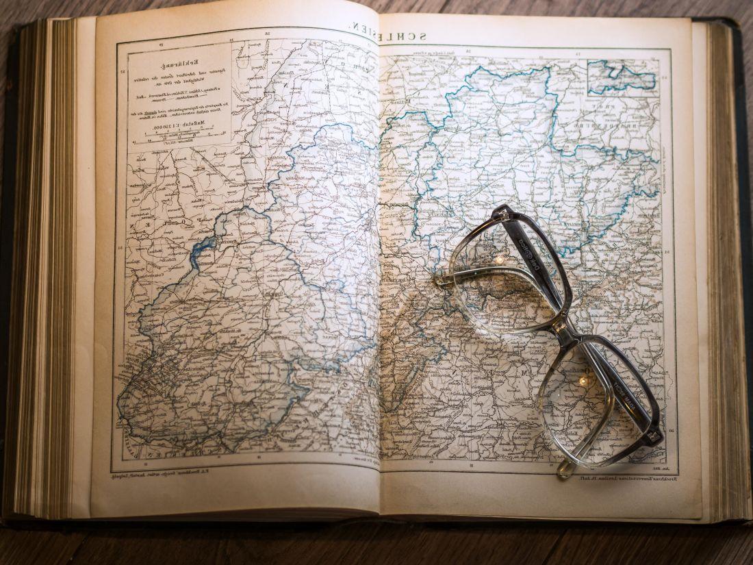 book, document, eyeglasses, page, old, map, illustration, antique, retro, paper