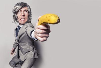 banana, businessman, suit, fashion, funny, portrait, person, man