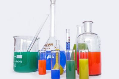 化学、液体、ガラス、研究、研究室、医学