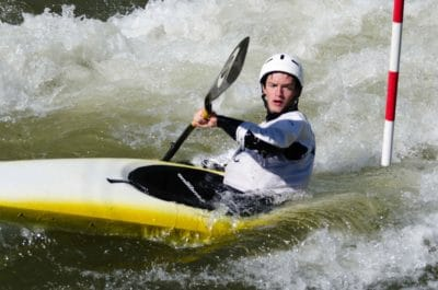 kayak, competition, athlete, canoe, oar, fast, paddle, oar