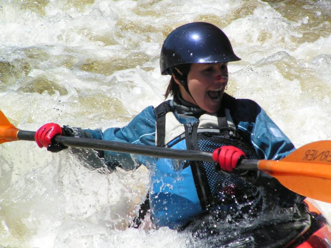 kajak, kanu, rafting, veslo, vode, veslo, natjecanje, sport