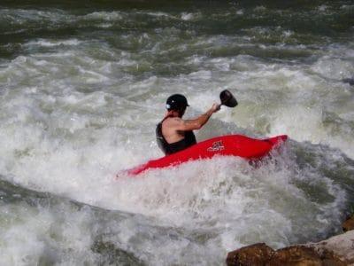 l'eau, la concurrence, joie de vivre, en plein air, kayak, sport, extreme