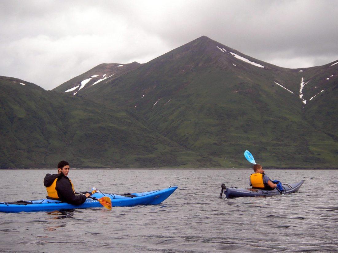 berkayak, air, kano, dayung, dayung, petualangan, perahu, Gunung