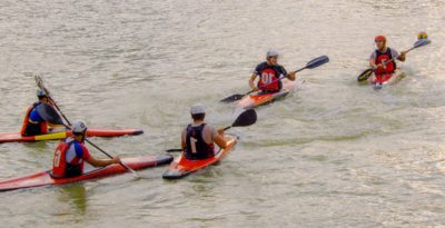 oar, canoe, competition, teamwork, kayak, people, water