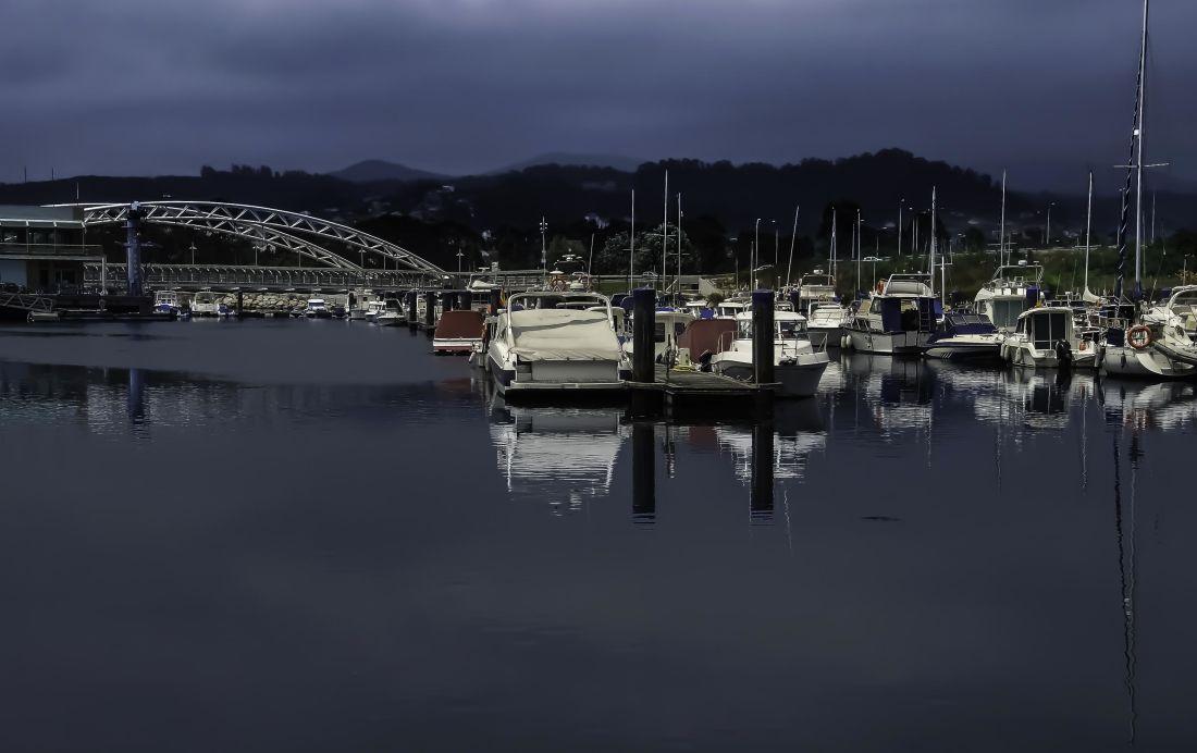 vode, brod, odraz, luke, pristaništa, grad, rijeku, marina