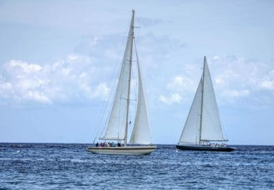 платноходка, платно, плавателни съдове, вода, небе, яхта, море, океан