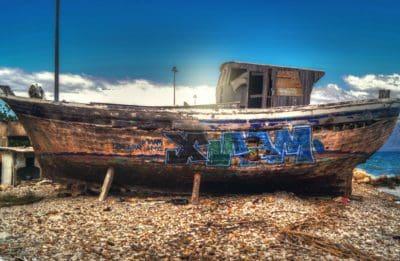 motomarine, eau, bateau, mer, bateau, sable, véhicule, océan, bord de mer