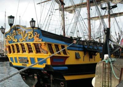 watercraft, skip, båt, kjøretøy, vann, havnen, sjøen, urbane