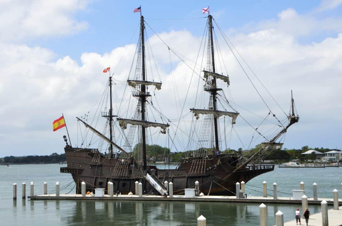water, watercraft, ship, old, ship, boat, sea, pirate, sail, mast