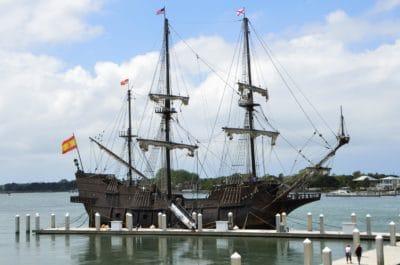 вода, водний транспорт, корабель, старі, корабель, човен, море, пірат, вітрило, щогли