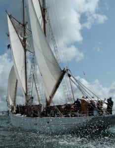 Wasserfahrzeuge, Segel, Segelboot, Schiff, blauer Himmel, Fahrzeug, Boot, Wasser, yacht