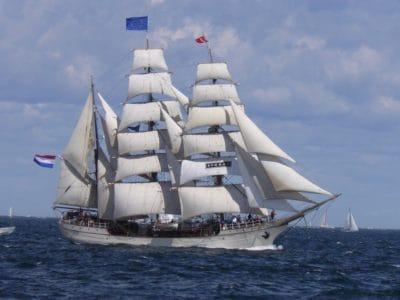 watercraft, sailboat, vehicle, sail, ship, yacht, boat, navy