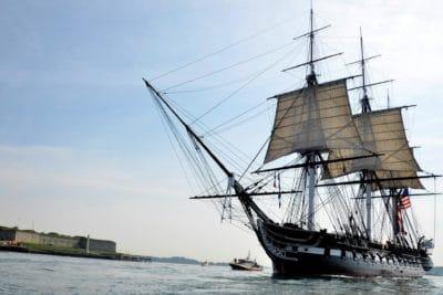 watercraft, skip, vann, blå himmel, båt, seil, seilbåt, havet