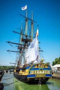 νερό, σκάφος, πλοίο, πειρατής, βάρκα, κατάρτι, ουρανός, θάλασσα