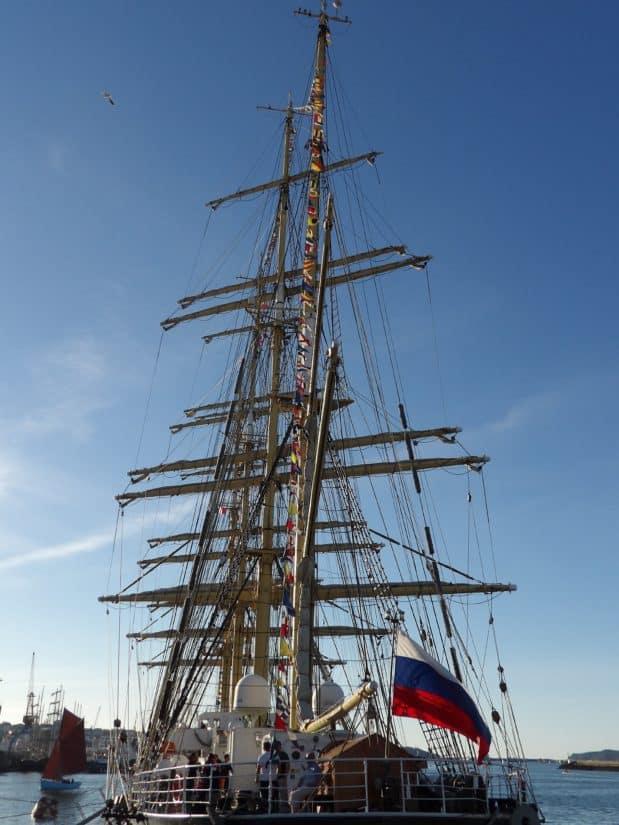 ambarcaţiuni, nava, apă, catarg, cerul albastru, barcă cu pânze, naviga, barca, navy