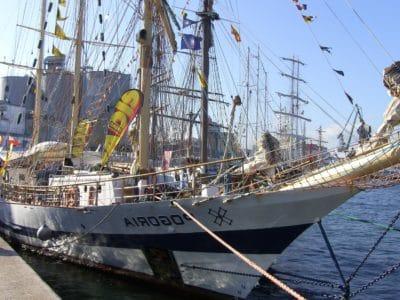 ship, watercraft, cargo ship, sailboat, sail, boat, water, mast