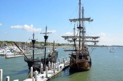 Wasserfahrzeuge, Wasser, Schiff, Boot, Hafen, Stadt, Hafen, Meer, Pier