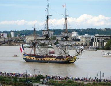watercraft, skip, båt, seil, seilbåt, vann, hav, urbane, mast