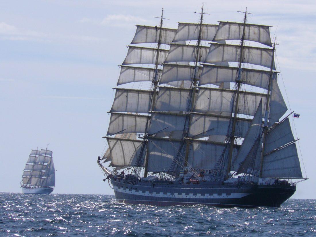skutera, brod, jedrilicu, jedro, oceana, brod, more, vode, vozilo