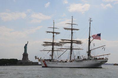 плавателни съдове, кораб, вода, статуя, лодка, платноходка, платно, превозното средство