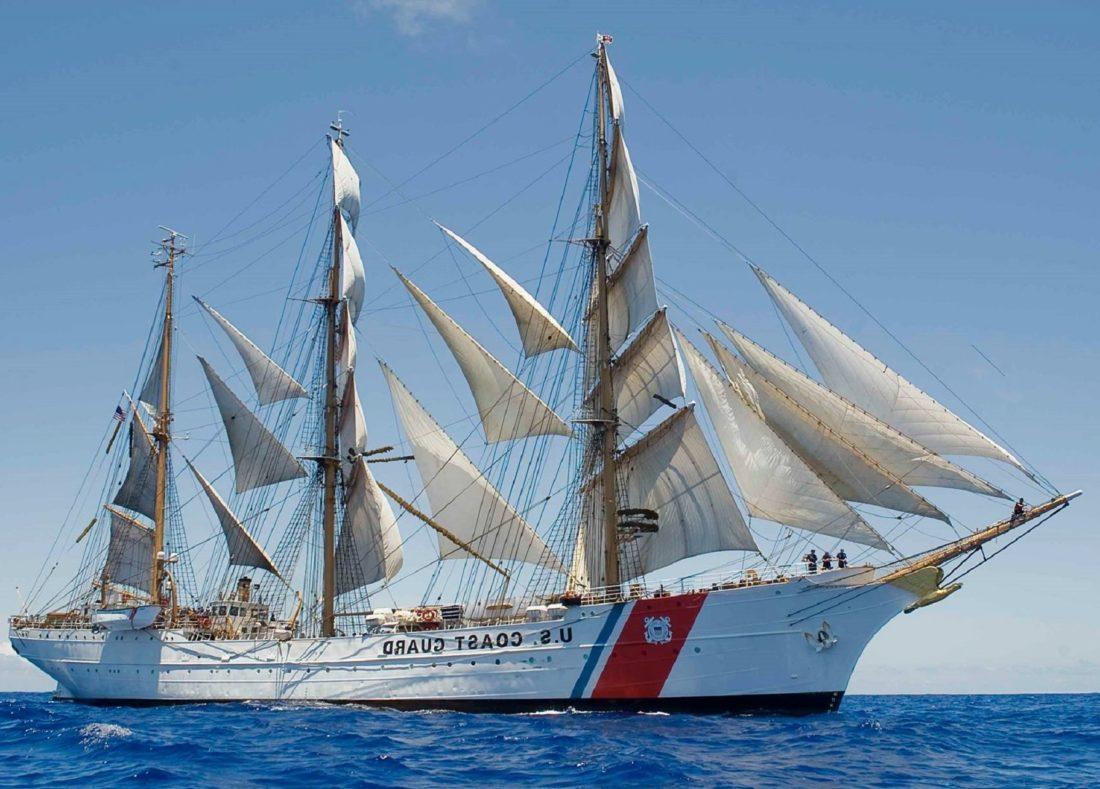 корабль, парус, гидроциклы, шлюпки груза, парусная лодка, лодки, вода, ВМФ
