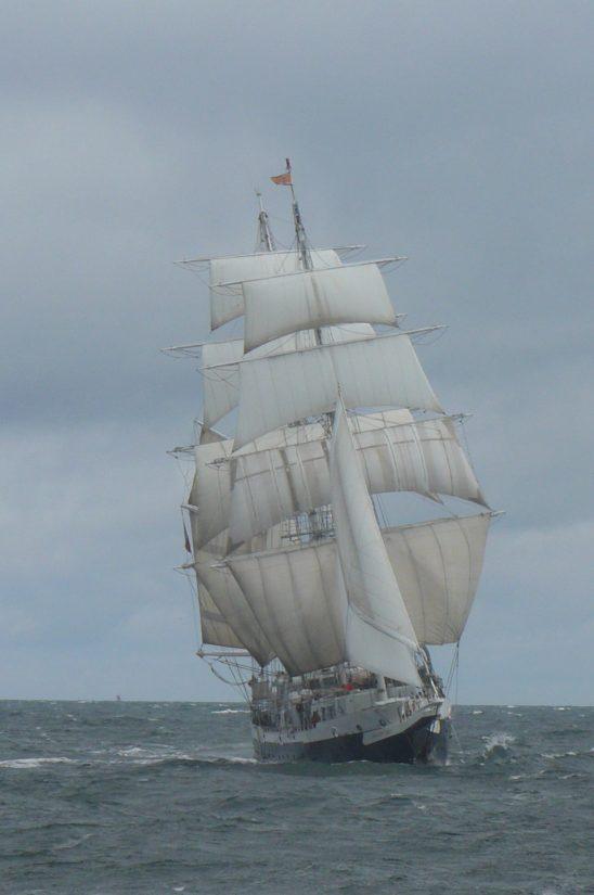 embarcações, navios, vela, horizonte, mastro, barco, veleiro, mar, água, mar