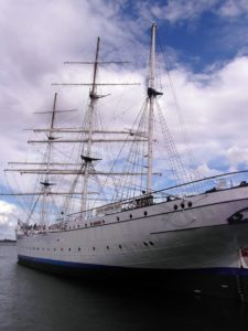 skúter, loď, vozidlo, vody, loď, royal, more, plachty