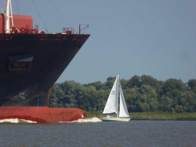 embarcación, vehículo, buque de carga, agua, barco, río, barco, mar, Puerto