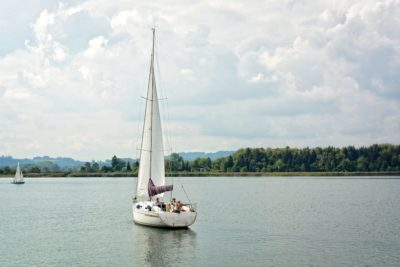 water, watercraft, sailboat, boat, vehicle, lake, recreation
