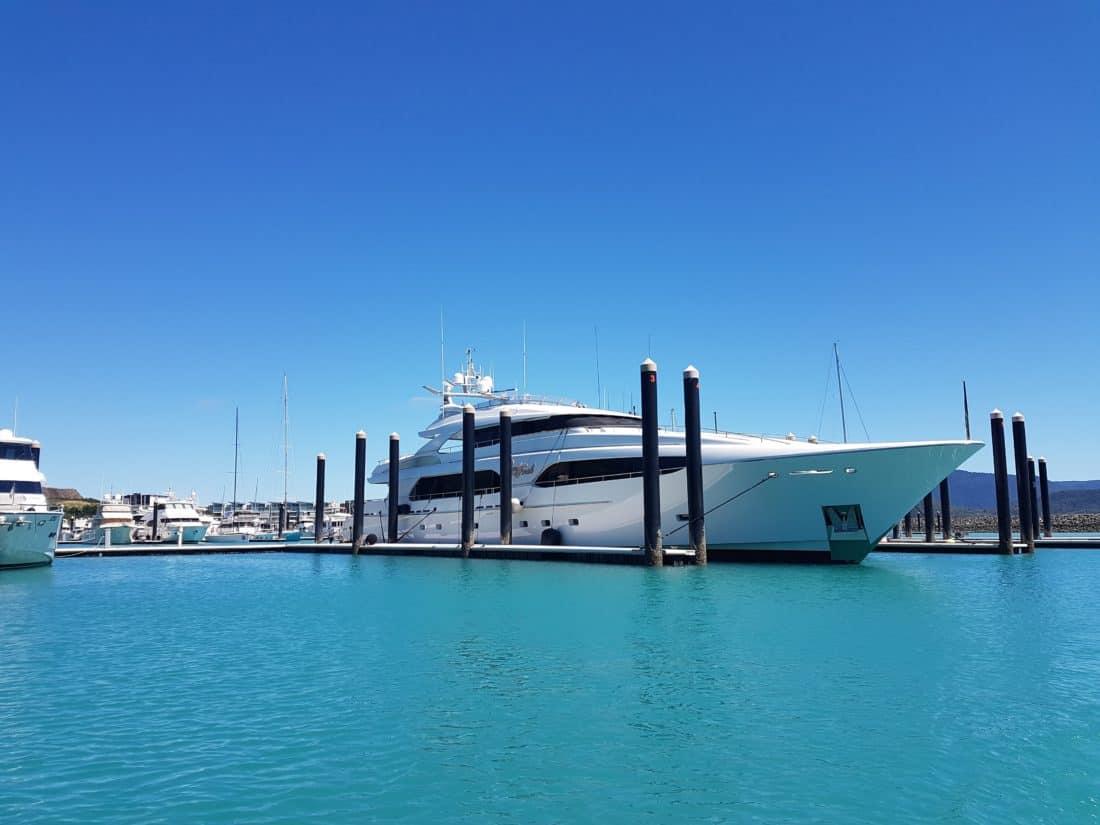 高級、青い空、水、空、アーキテクチャ、桟橋、船、海、船、海